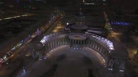 大教堂喀山彼得斯堡st 股票视频