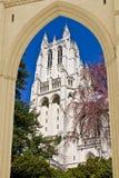 大教堂国民华盛顿 免版税库存照片