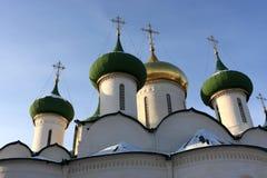 大教堂圆屋顶变貌 库存图片