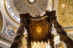 大教堂圆顶彼得s st 库存照片