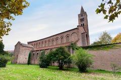 大教堂圣乔凡尼Evangelista在拉韦纳 库存照片