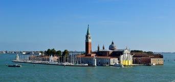 大教堂圣乔治Maggiore在威尼斯 库存图片