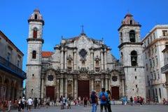 大教堂圣克里斯托瓦尔古巴 库存图片
