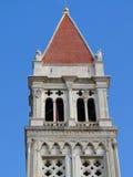 大教堂圣劳伦斯湾(Sv洛弗)在特罗吉尔 免版税库存图片