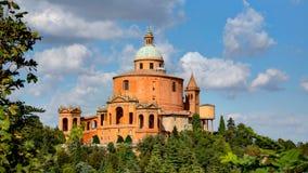 大教堂圣卢卡,波隆纳,意大利 免版税库存照片