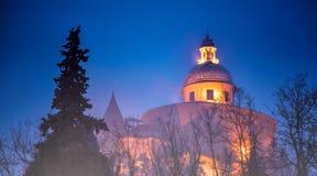 大教堂圣卢卡,波隆纳,意大利 库存照片