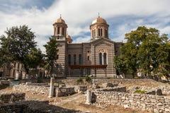 大教堂圣徒传道者Petru和保罗 图库摄影