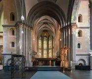 大教堂圣徒安德烈亚斯,科隆,德国 免版税库存照片