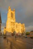 大教堂圣徒皮埃尔圣徒保罗,特鲁瓦 库存图片
