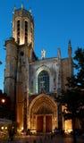 大教堂圣徒Sauveur在艾克斯普罗旺斯 免版税库存照片