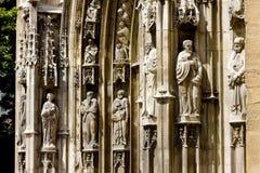 大教堂圣徒sauveur 免版税库存图片