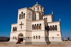大教堂圣徒volodymyr 库存照片