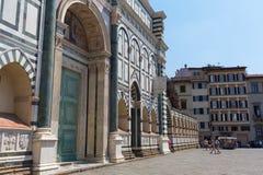 大教堂圣玛丽亚中篇小说在佛罗伦萨,意大利 库存图片
