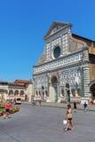 大教堂圣玛丽亚中篇小说在佛罗伦萨,意大利 免版税图库摄影