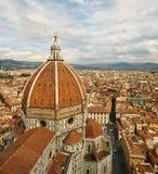 大教堂圣玛丽亚del菲奥雷的看法 免版税图库摄影