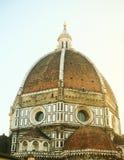 大教堂圣玛丽亚del菲奥雷,佛罗伦萨,意大利 图库摄影