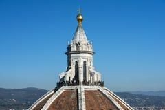 大教堂圣玛丽亚del菲奥雷Duomo,佛罗伦萨圆顶  免版税图库摄影