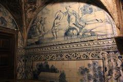 大教堂圣玛丽亚Maior de里斯本,葡萄牙 免版税库存图片