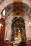 大教堂圣玛丽亚Maior de里斯本,葡萄牙 免版税库存照片