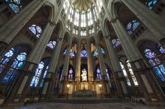 大教堂圣皮埃尔博韦-内部14 库存照片