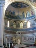 大教堂圣胡安de LetrA? ¡ n是最旧的教会在世界上 意大利罗马 免版税库存图片