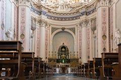 大教堂圣萨尔瓦托雷在诺托,西西里岛,意大利 免版税库存图片