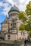 大教堂圣马丁de Tours 浏览 法国 库存图片