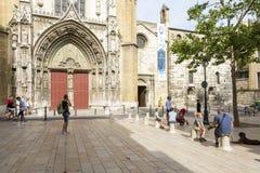 大教堂圣索弗尔d `艾克斯普罗旺斯 库存图片