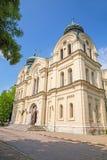 大教堂圣Dimitar,维丁 免版税库存照片