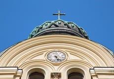 大教堂圣Dimitar,维丁 免版税库存图片