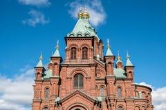大教堂在一个晴天 免版税库存图片
