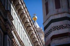 大教堂在佛罗伦萨,托斯卡纳,意大利 库存照片