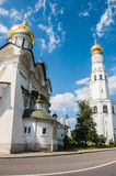 大教堂在克里姆林宫,俄罗斯 免版税库存图片