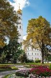 大教堂在克里姆林宫,俄罗斯 免版税库存照片