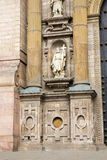 大教堂在利马,秘鲁。老教会在南美,在1540年修造。阿雷基帕的Plaza de阿玛斯是一个最美丽在秘鲁 免版税库存照片
