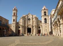 大教堂在哈瓦那古巴 库存图片