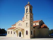 大教堂在塞浦路斯 免版税库存图片