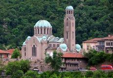 大教堂在大特尔诺沃 库存图片