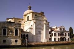大教堂在威尼斯死圣玛丽亚della致敬 库存图片