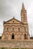 大教堂在安塔那那利佛马达加斯加 免版税图库摄影