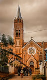 大教堂在安巴拉沃 库存照片