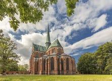 大教堂在巴特多伯兰县德国 库存照片