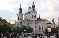 大教堂在布拉格 免版税库存照片