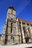 大教堂在布拉索夫市,罗马尼亚 免版税库存图片