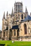 大教堂在库唐塞,诺曼底,法国 免版税库存图片