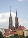 大教堂在弗罗茨瓦夫 免版税库存图片