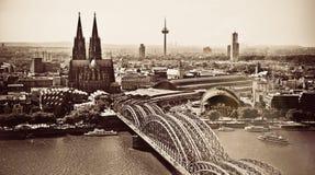 大教堂在德国在科隆 免版税库存图片