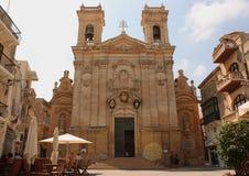 大教堂在戈佐岛 免版税库存图片