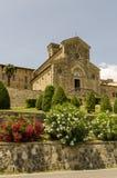 大教堂在托斯卡纳 免版税库存图片