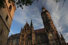 大教堂在斯洛伐克 免版税图库摄影